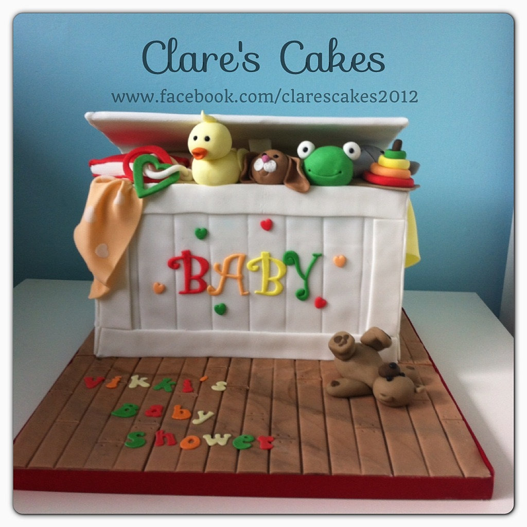 Toybox Baby Shower Cake