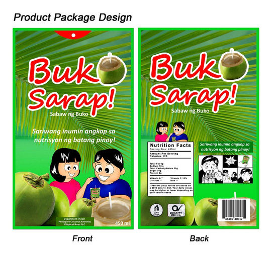 Product Design (Juice Drink)