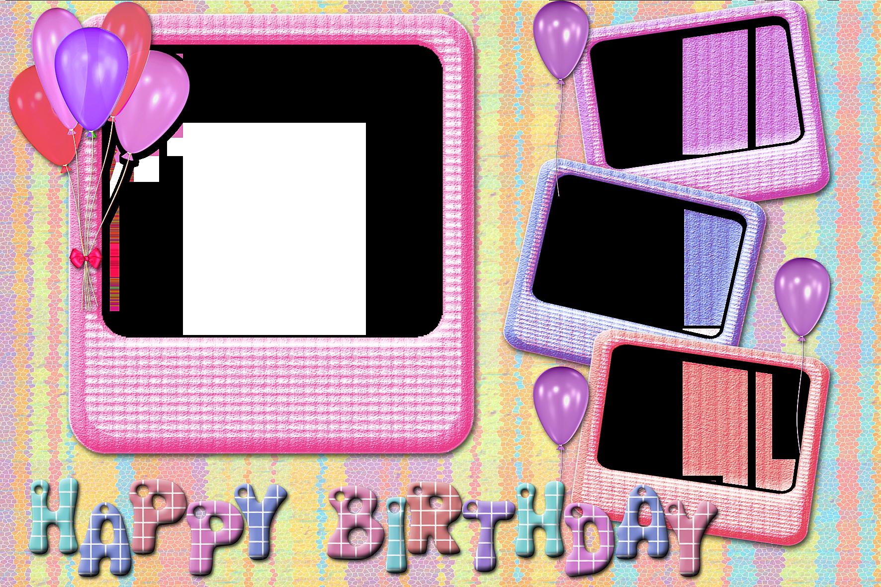 Рамки для фото на день рождения ребенка 1 год