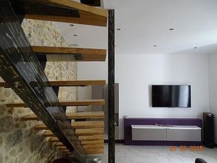 Menuiserie laporte r alisations - Escalier bois et fer ...