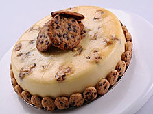 Choco Chip Cookie Dough Cheesecake