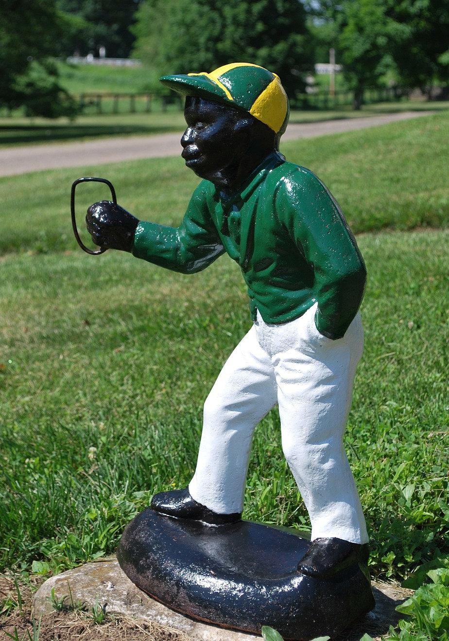 Kentucky Lawn Jockey Kuster Jocko Graves