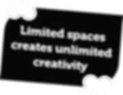 Limited spaces creates unlimited creativity - Small Space Plus