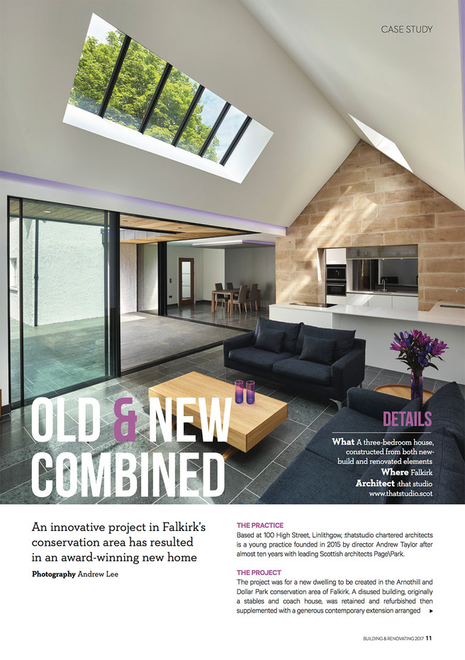 home and interiors scotland. Homes  Interiors Scotland feature Arnothill thatstudio