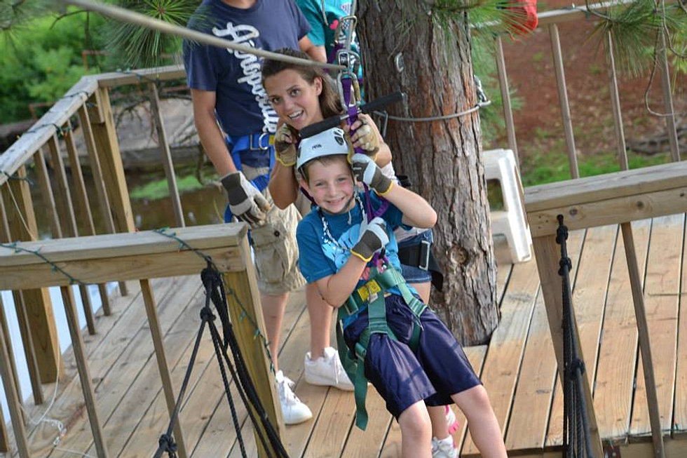 Kids Can Zip Line Too