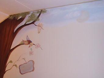 gedeelte van boom met vogel small