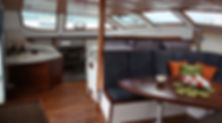 sailing hibiscus interior