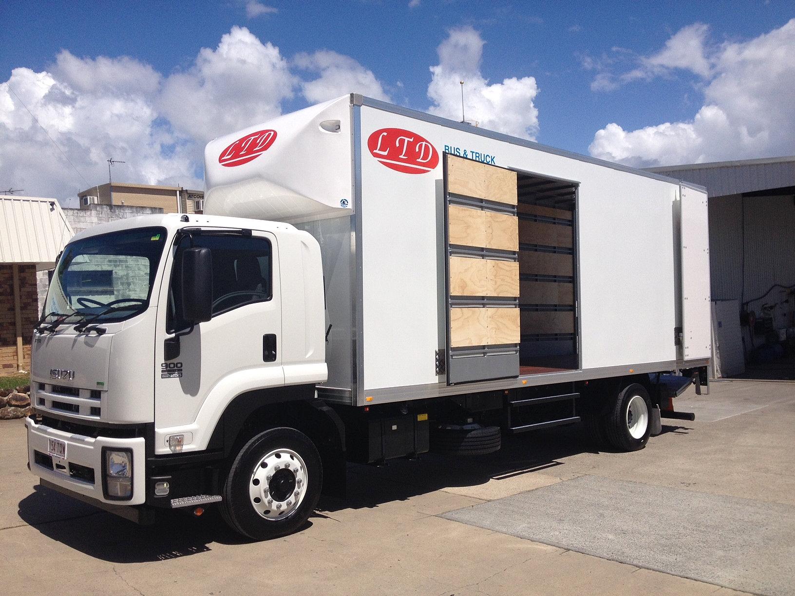 Rental Trucks For Moving >> LTD Rentals | 8 tonne truck 50m3