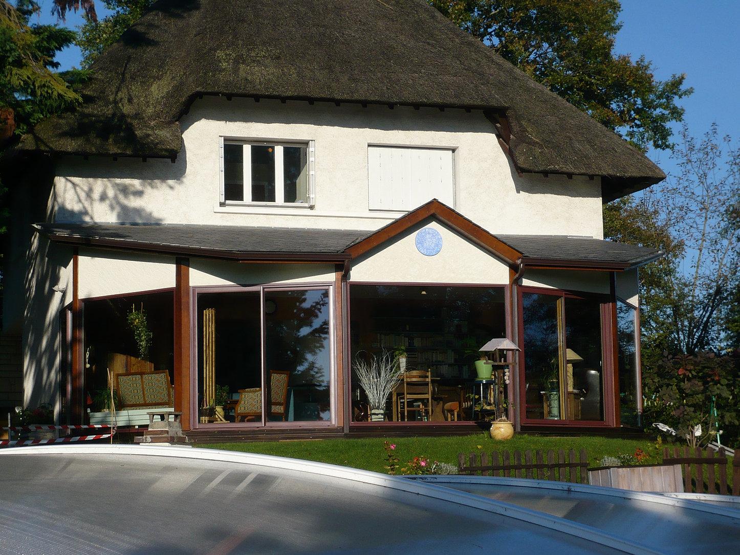 Constructeur maison agrandissement bois devis maison bois for Agrandissement maison 68