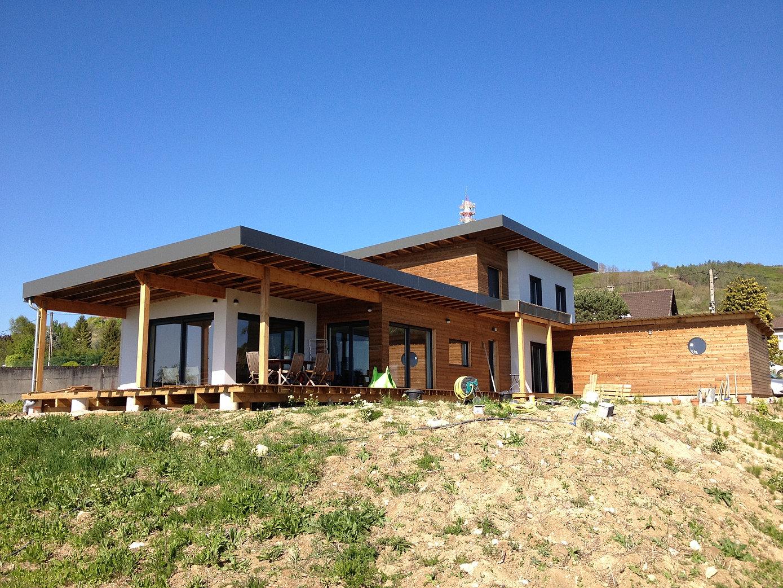 maison bois, Allier, Auvergne, 03 63, agrandissement # Maison Bois Auvergne