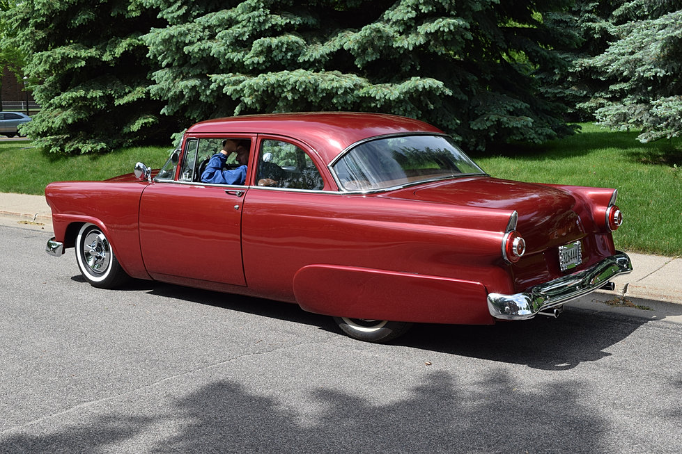 Twincitiesauctions 1955 ford customline for 1955 ford customline 4 door