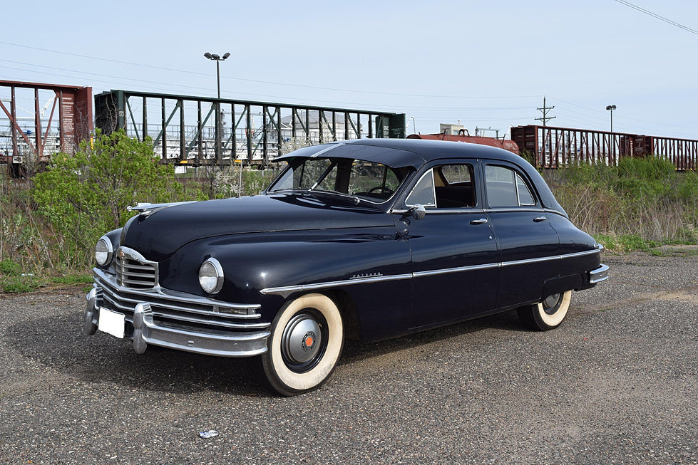 twincitiesauctions 1950 packard 4 door sedan