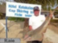 pêcher la raie de Casamance