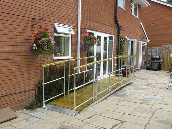 Wheelchair Ramps For The Home Ra 39 Alloy Ramps