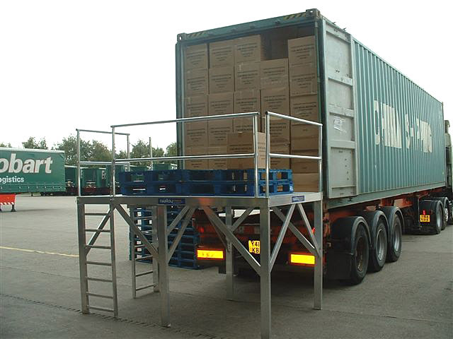 Shipping A Car >> Pallet loading platform