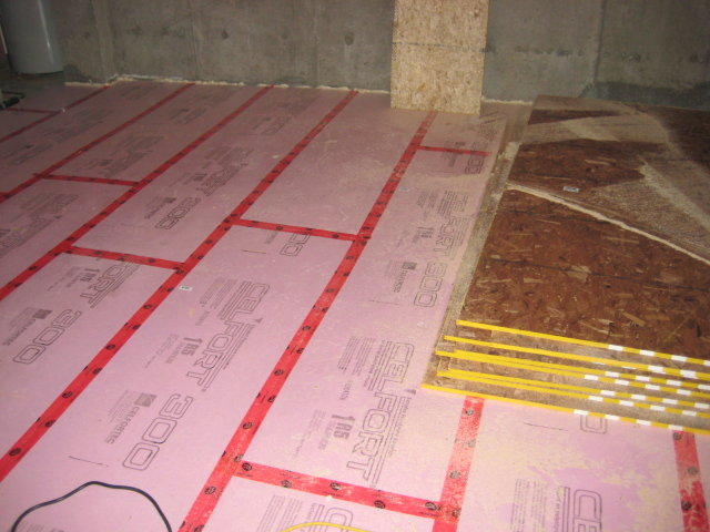 Basement Flooring - How To Insulate A Concrete Floor