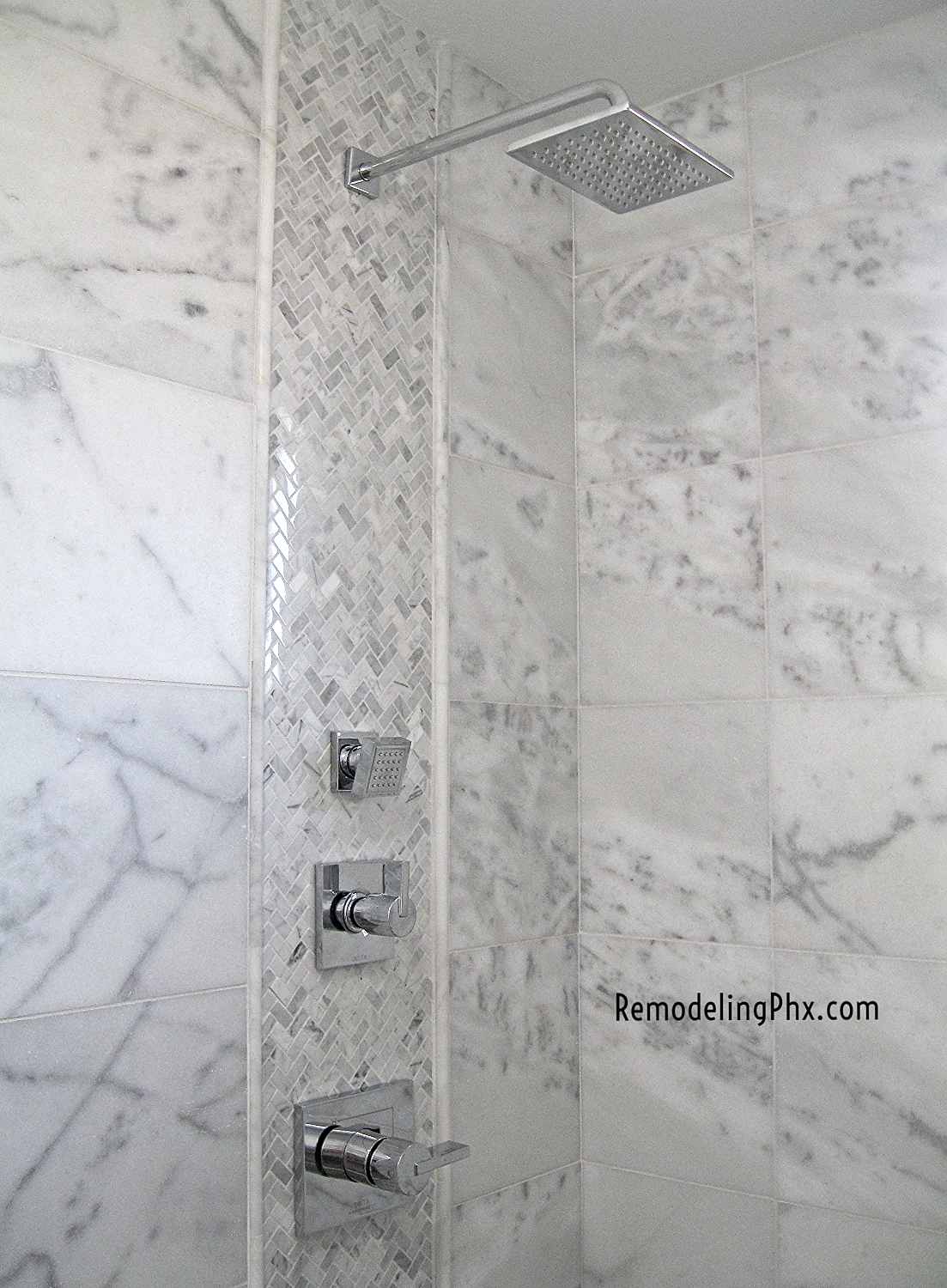 Bathroom And Shower Remodeling Contractor In Az Carrara