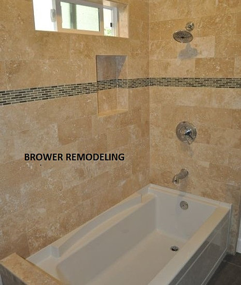Bathroom and shower remodeling contractor in az for Bath remodel peoria il