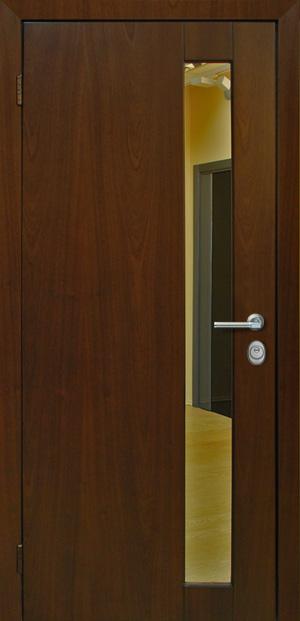 железные двери к лифту