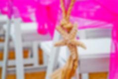 starfish rope beach chair decorations
