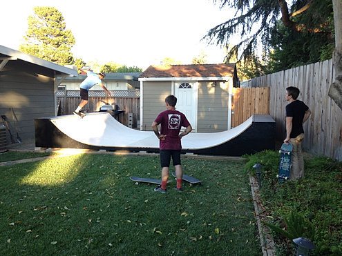 Image Gallery Home Skate Ramps