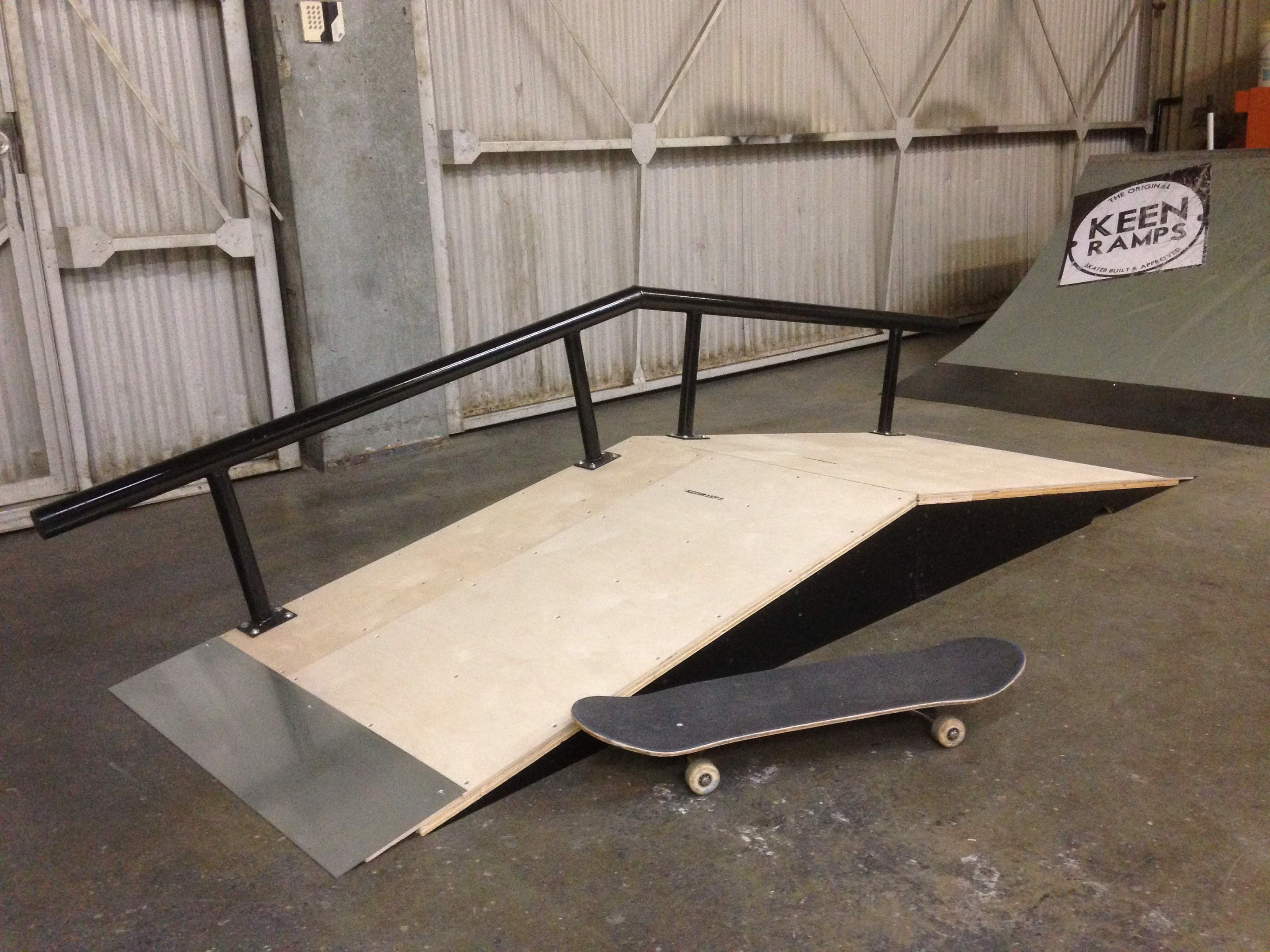 Skateboard Picture Frame ramps and rails 91565: manny santiago's bump to rail skateboard