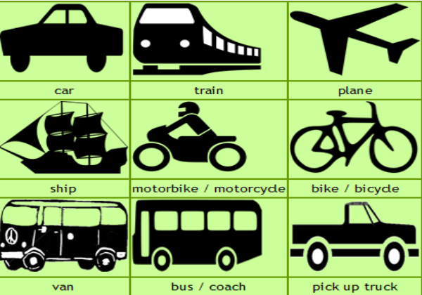 TRANSPORT AND PREPOSITIONS | English Interaction