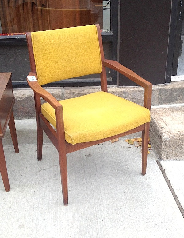 ... Pittsburgh Furniture Company By Pittsburgh Furniture Company Walnut Mid  Century Arm Chair ...