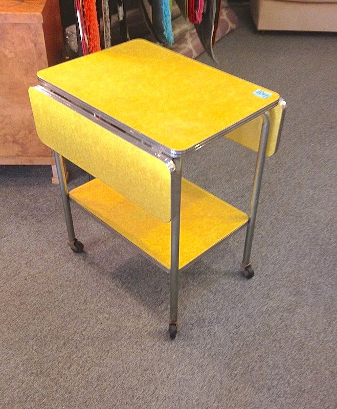Exceptional ... Pittsburgh Furniture Company By Pittsburgh Furniture Company Chrome  Base Kitchen Cart ...