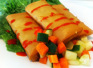 Curry Beef Lumpia