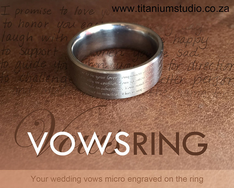 Titanium wedding rings south africa