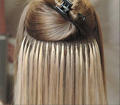 Corinne asch for extension studiobest hair extensions shrink links shrink links pmusecretfo Images