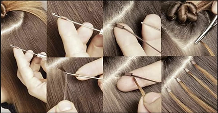 Corinne asch for extension studiobest hair extensions cold fusion cold fusion hair extensions does not use heat to apply the hair extensions to your hair the strands are re usable solutioingenieria Choice Image