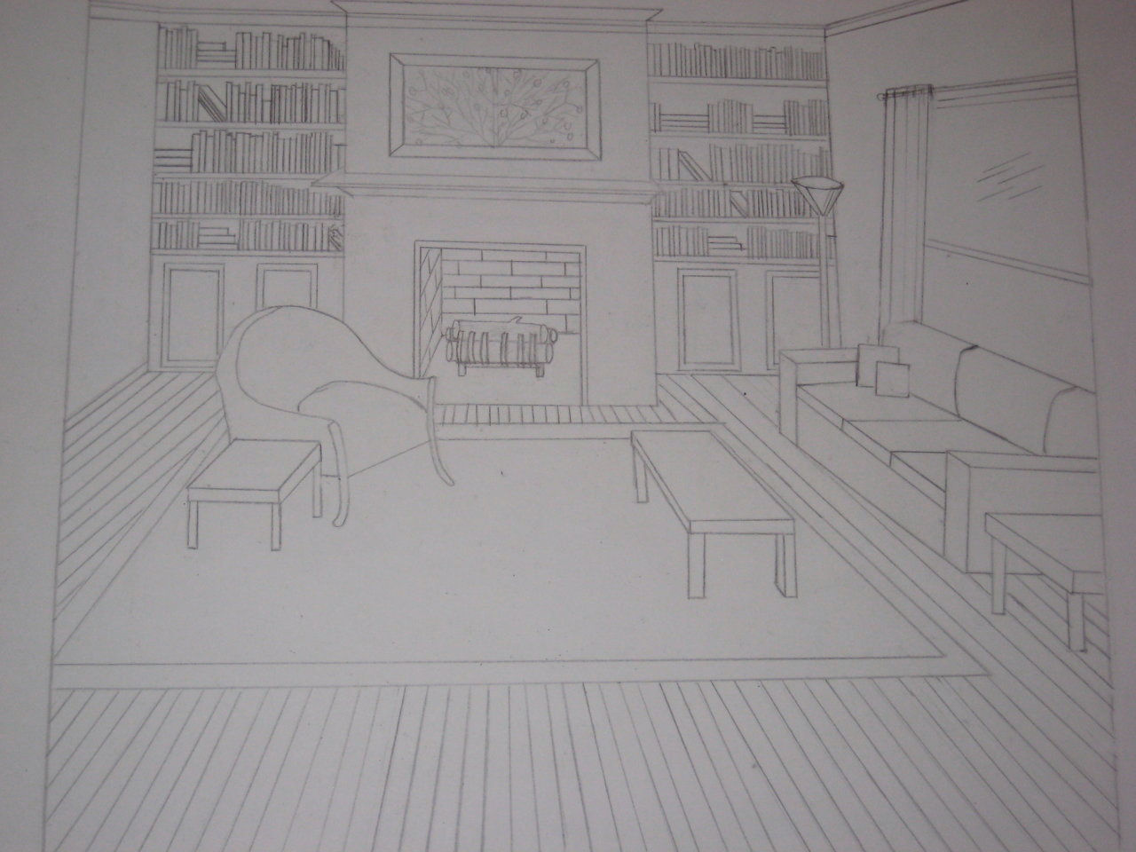 Interiordesigner created by sophiewaddell based on for Living room 1 point perspective