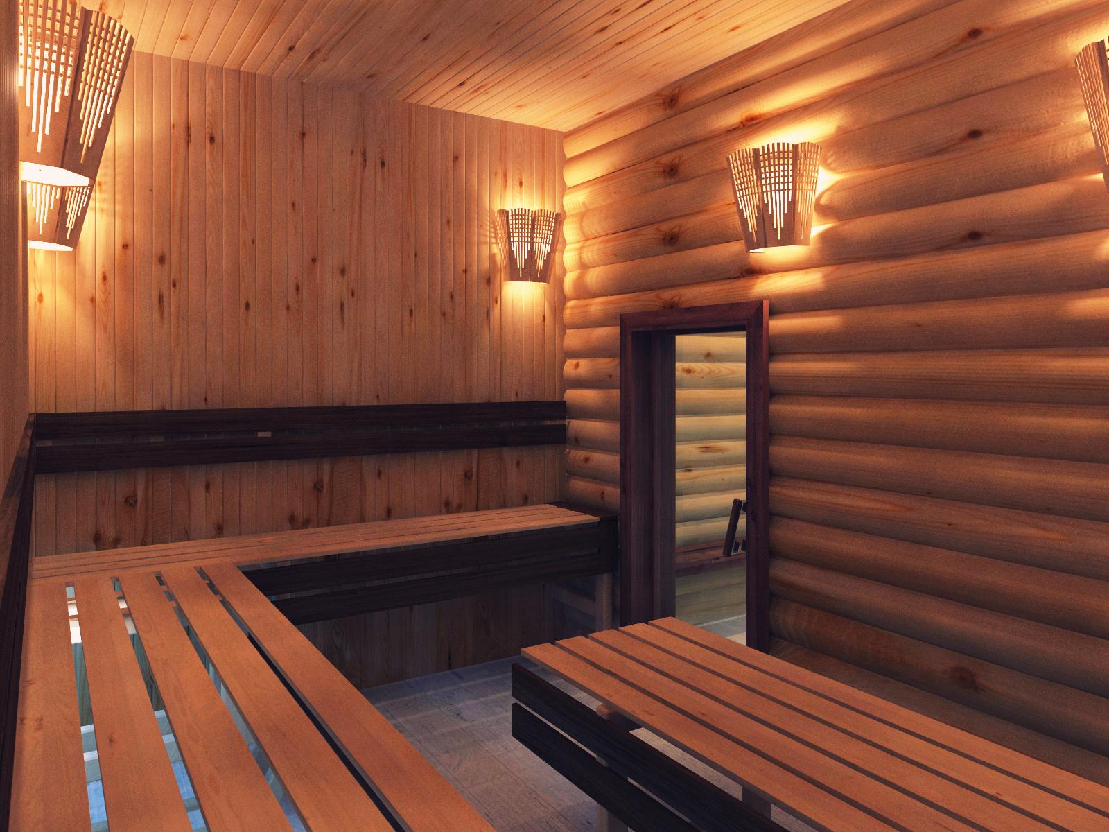 Фото дизайна парилки в бане
