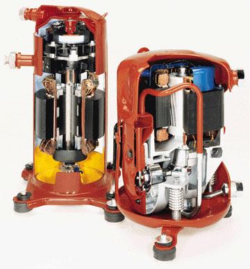 Como funciona un compresor de aire acondicionado