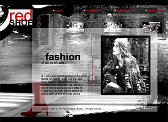 My Fashion Store Template - Create your own stunning free Website with this simple-to-use Flash template. Designed with your unique business needs in mind, this Grunge template is the perfect stage to show off and sell your works and art.