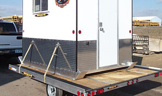 Beberg outdoors skid trailer info prices for Aluminum skid fish house