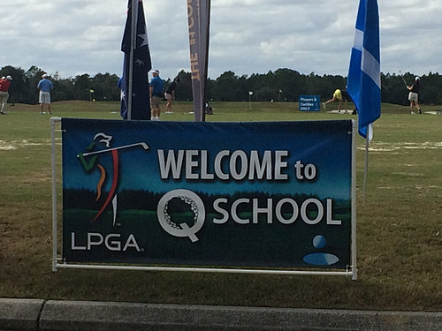 LPGA Q-School sign