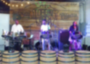 Live steel pan, steel band at loading dock palmetto brewing company south carolina best live band live music singer vocals guitar charleston
