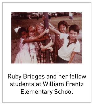 ruby bridges movie essay Ruby bridges is a 1998 television film, written by toni ann johnson and based  on the true story of ruby bridges, the first black student to attend integrated.
