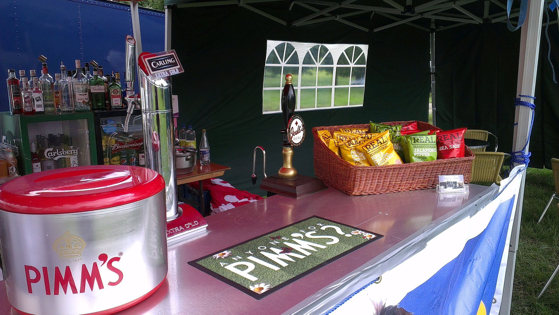 pimms tent dog and duck.jpg & Free website built by stylishbars using Project Pro | Wix.com