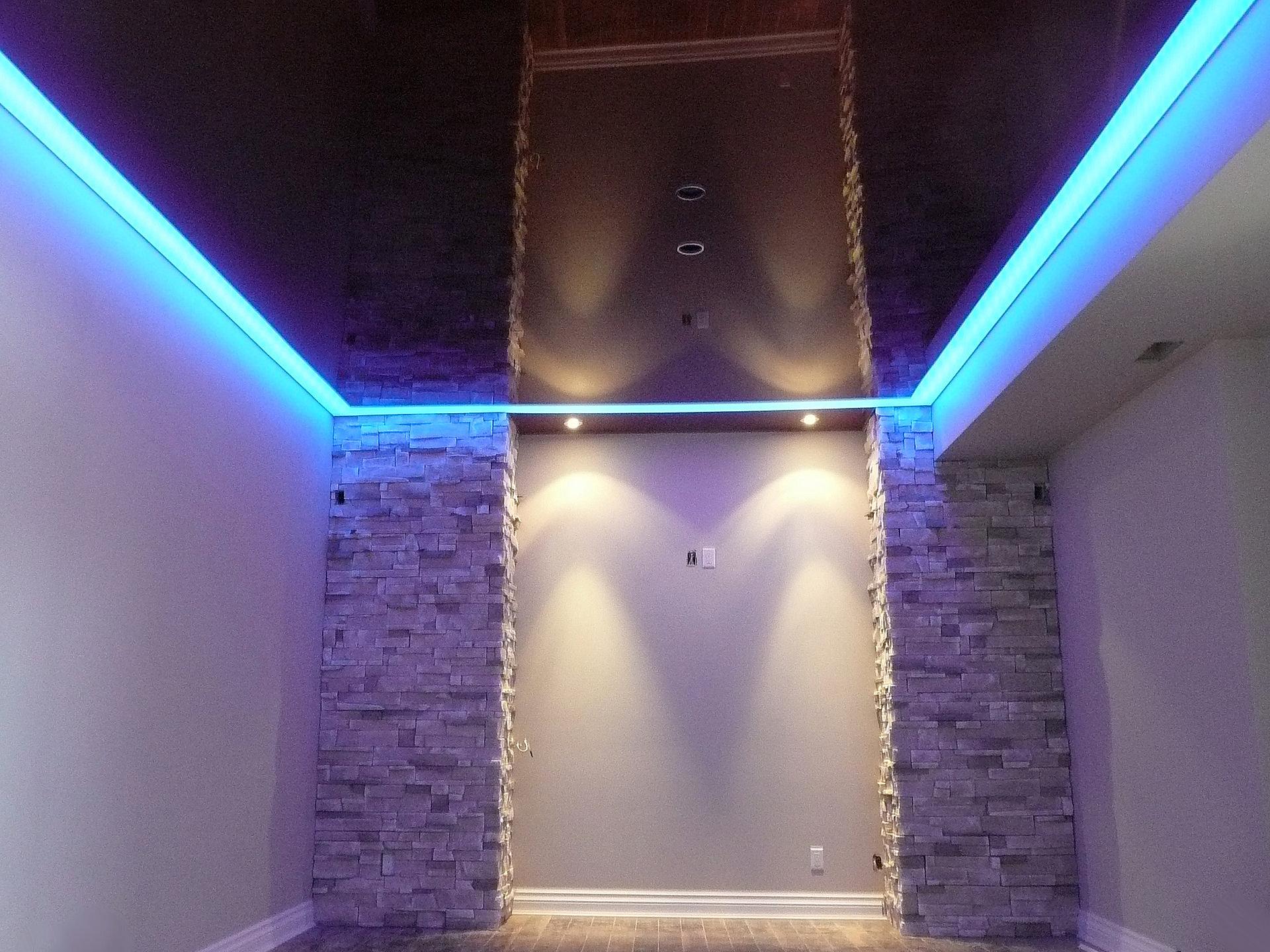 Sous sol for Bandeau lumineux plafond