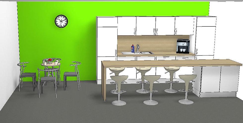 Design Teeküche Büro