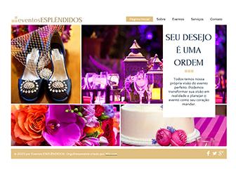 Eventos de Moda Template - Um template moderno e elegante para promover seu empreendimento de planejamento de eventos. Adicione texto e fotos e mostre suas tarifas, pacotes e serviços exclusivos. Jogue com as cores e acerte o layout para criar um site que seja verdadeiramente seu.