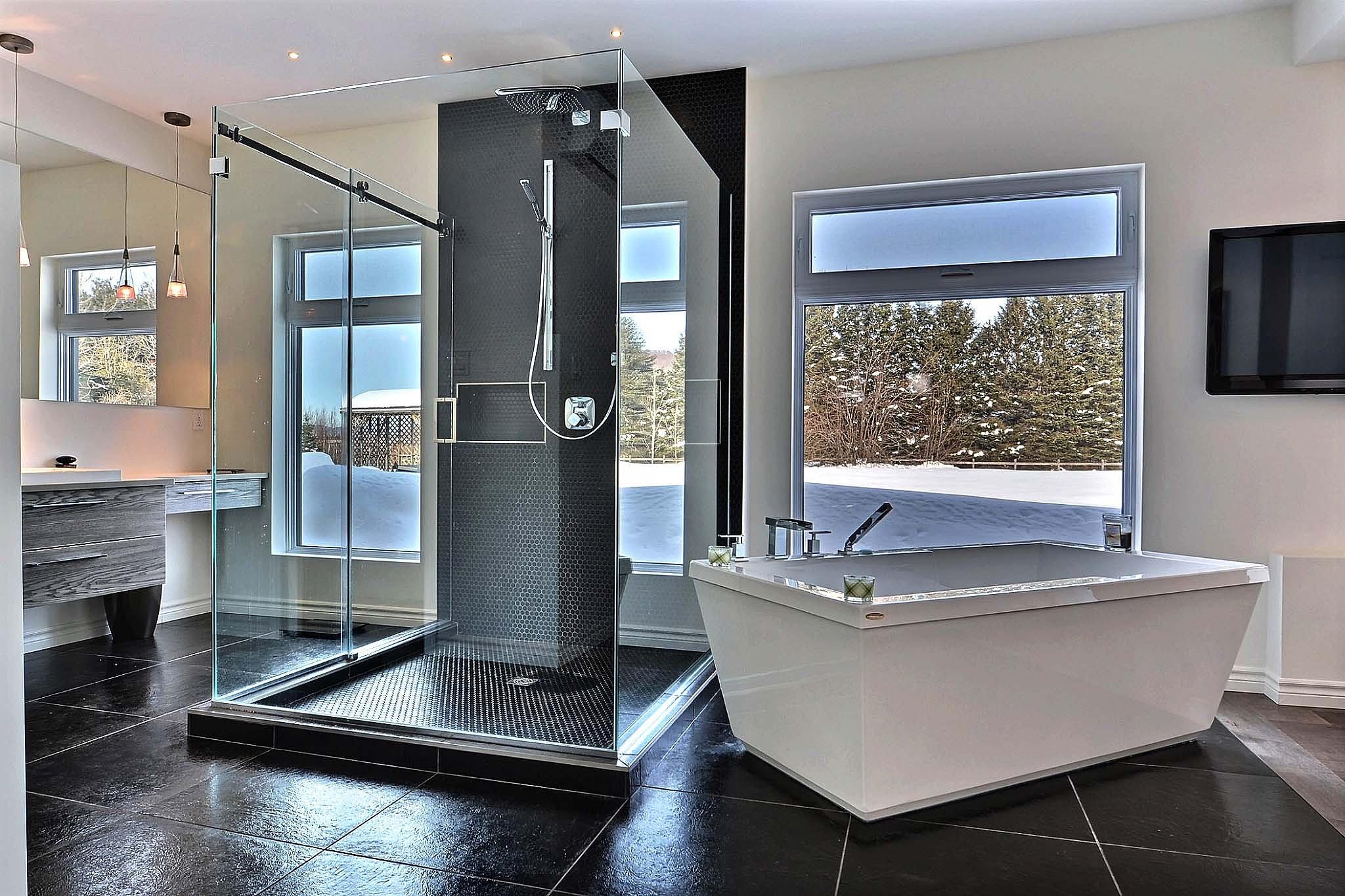 K par k cuisines et salles de bain douche de c ramique - Salle de bain ceramique photo ...