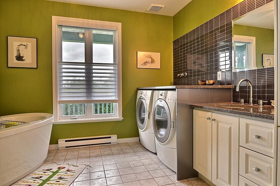 K par k cuisines et salles de bain salles de bains for Parure de fenetre pour salle de bain