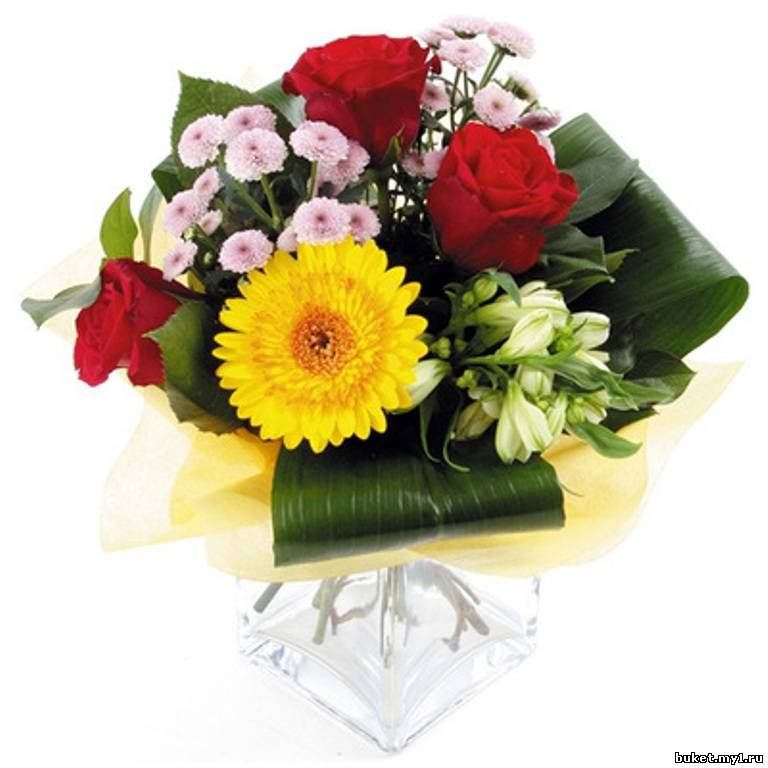 Букетов из цветов