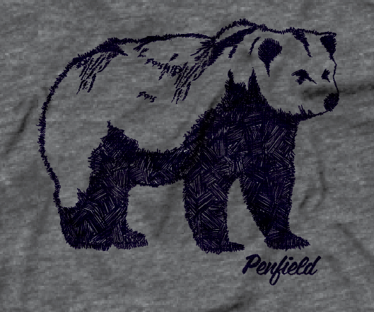 Penfield HandDrawn Bear Tee