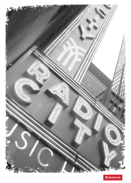 Fenchurch SMU Radio City Tee
